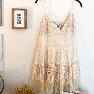 RAGA babydoll lace dress size medium
